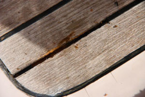 Caulk Separating From Teak