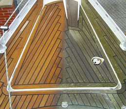 Teak Deck Maintenance