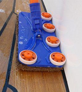 Teak Deck Scrubber Tool