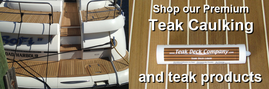 Teak Deck Caulk