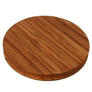 Teak Round Cutting Board
