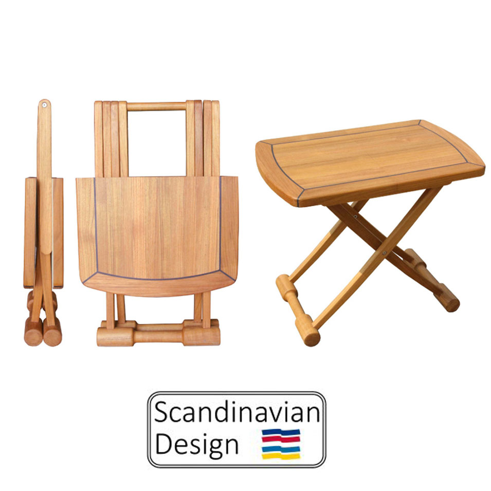 Admirable Teak Folding Table Rectangular End Table Download Free Architecture Designs Lectubocepmadebymaigaardcom