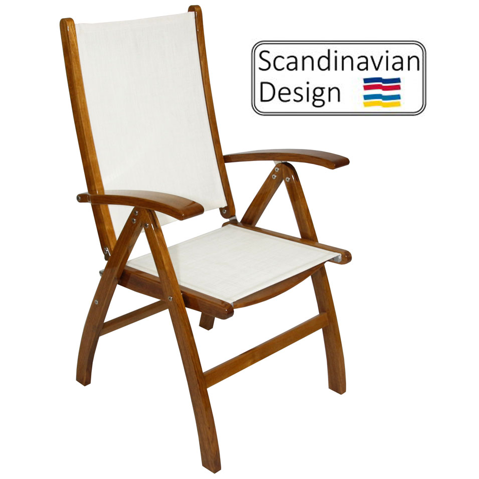 High Gloss Sling Chair