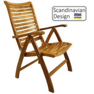 high gloss folding chair