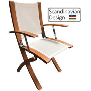 Teak Folding Marstrand Chair